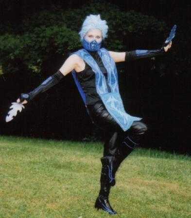 Frost from Mortal Kombat worn by Pixie Kitty