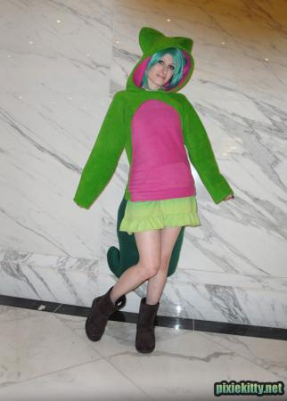 Treecko worn by Pixie Kitty