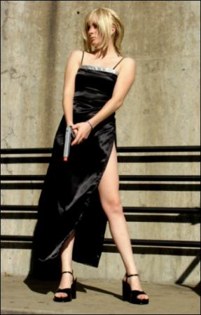 Aya Brea from Parasite Eve worn by Pixie Kitty