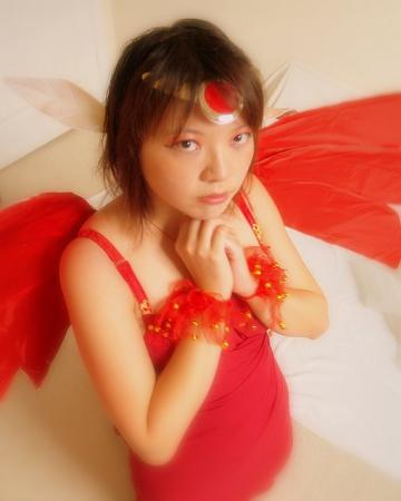 The Firey from Card Captor Sakura worn by Mitylene