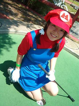 Mario from Mario Bros worn by Mitylene