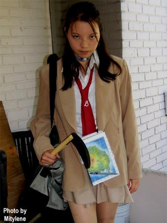 Mitsuko from Battle Royale worn by Mitylene