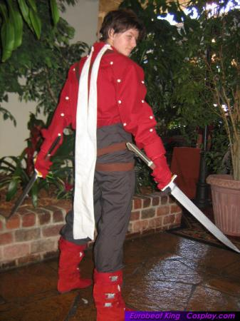 Lloyd Irving from Tales of Symphonia worn by keikana