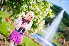 Shiemi Moriyama from Blue Exorcist  by IchigoKitty