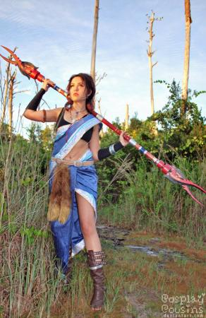 Oerba Yun Fang from Final Fantasy XIII worn by Tranquility