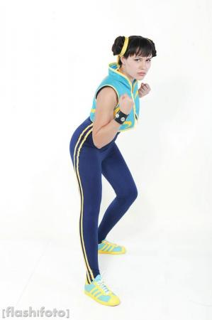 Chun Li from Street Fighter Alpha worn by Tranquility