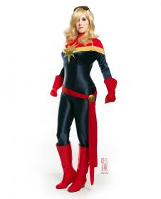Captain Marvel from Marvel Comics worn by Kelldar