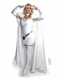 Emma Frost from X-Men worn by Kelldar
