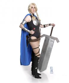 Valkyrie from Marvel Comics worn by Kelldar