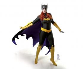 Batgirl from Batman worn by Kelldar