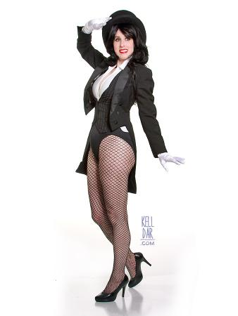 Zatanna Zatarra from Justice League worn by Kelldar