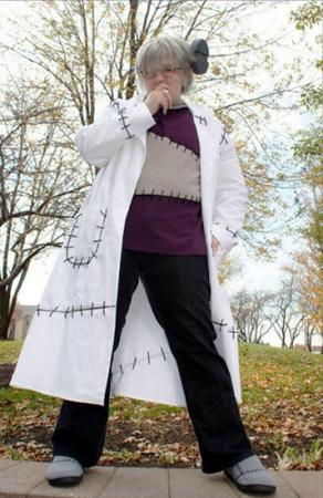 Dr. Frankenstein from Soul Eater worn by Sugar