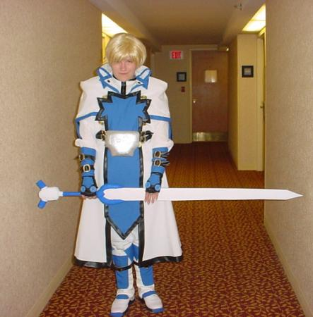 Ky Kiske from Guilty Gear worn by Sugar