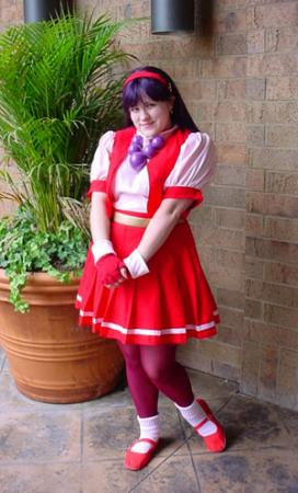 Athena Asamiya from King of Fighters 1997 worn by Sugar