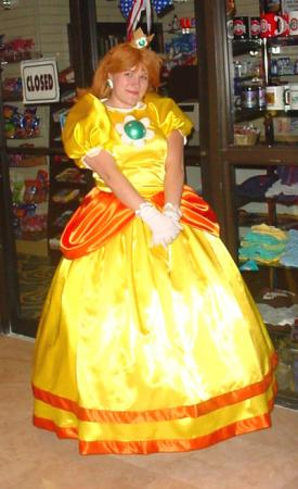Princess Daisy from Super Mario Brothers Series worn by Sugar