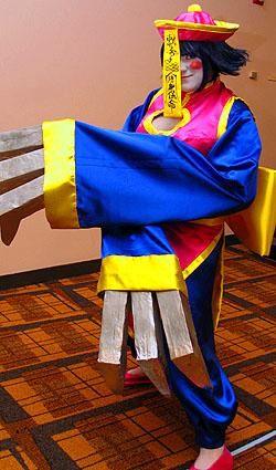 Hsien Ko / Lei Lei from Darkstalkers worn by Sugar