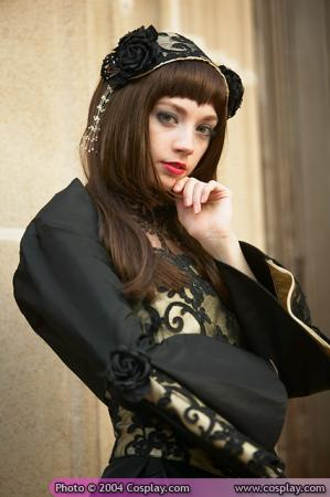 Elegant Gothic Lolita from Original: Gothic Lolita / EGL / EGA worn by Haruka