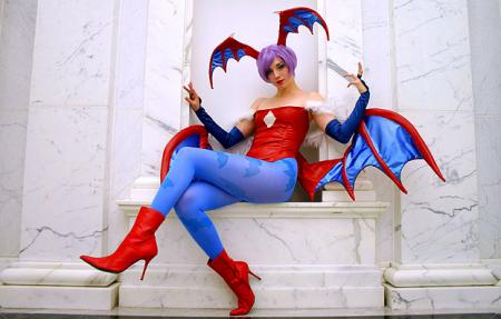 Lilith Aensland from Darkstalkers worn by Haruka