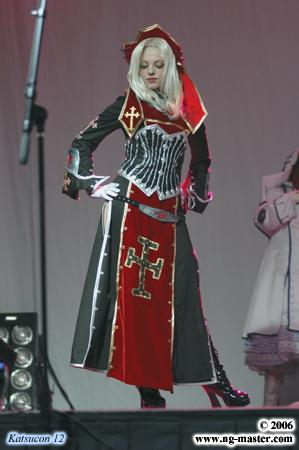 Sister Paula from Trinity Blood worn by Daitenshi