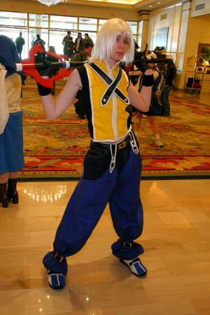 Riku from Kingdom Hearts worn by Lady Ava