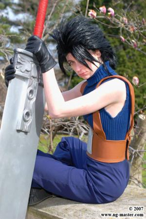Zack Fair from Final Fantasy VII: Crisis Core worn by Lady Ava