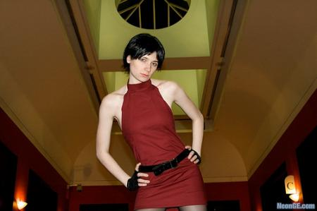 Ada Wong from Resident Evil 2 worn by Lady Ava