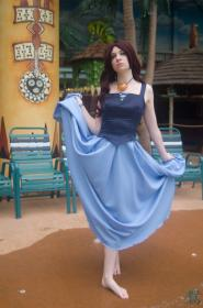 Vanessa from Little Mermaid worn by Lady Ava