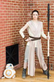 Rey from Star Wars Episode 7: The Force Awakens worn by Lady Ava