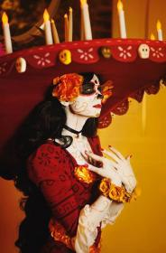 La Muerte from The Book of Life worn by Lady Ava