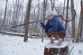 Jack Frost from Rise of the Guardians worn by Lady Ava