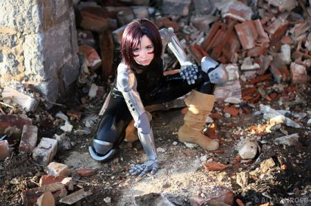 Gally / Alita from Battle Angel Alita worn by Lafiel
