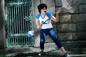 Jane Crocker from MS Paint Adventures / Homestuck worn by Kisa Cosplay