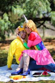 Lady Rainicorn from Adventure Time with Finn and Jake worn by Kisa Cosplay