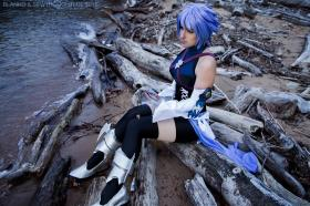 Aqua from Kingdom Hearts Birth by Sleep worn by Kisa Cosplay