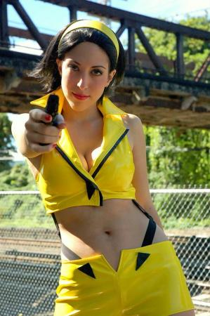 Faye Valentine from Cowboy Bebop worn by Kisa Cosplay
