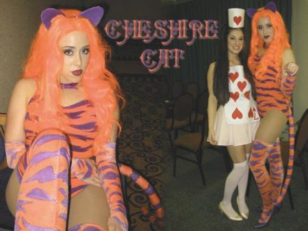 Cheshire Cat from Miyuki-chan in Wonderland worn by angelsamui