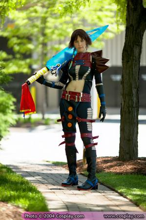 Yuna from Final Fantasy X-2 worn by AllStarAlice