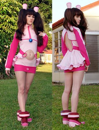 Amy from Burst Angel worn by RuffleButt