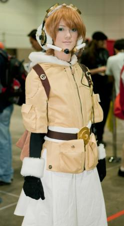 Fam Fan Fan from Last Exile -Fam, the Silver Wing- worn by RuffleButt