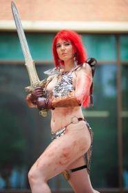 Red Sonja from Red Sonja worn by Chiko