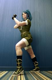 Leona Heidern from King of Fighters 1996 by Chiko