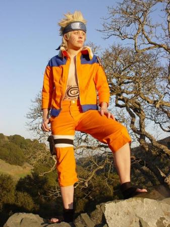 Naruto Uzumaki from Naruto worn by Rikku