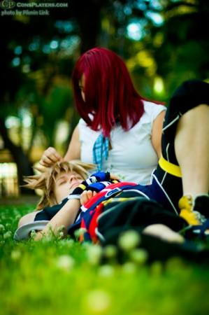 Sora from Kingdom Hearts 2 worn by Rikku