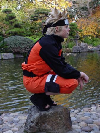Naruto Uzumaki from Naruto Shipp&#363;den worn by Rikku