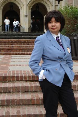 Haruhi Fujioka from Ouran High School Host Club worn by Scarlet Prettycure