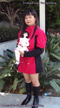 Sabrina from Pokemon worn by Scarlet Prettycure