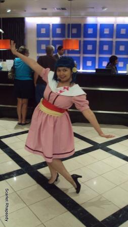 Dawn / Hikari from Pokemon worn by Scarlet Prettycure