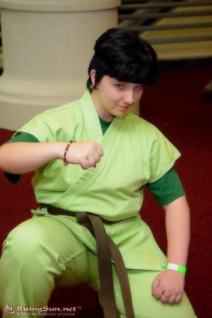 Ninja Green from Ninja Yell worn by Kimiko