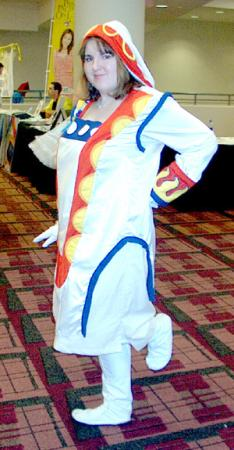 Yuna from Final Fantasy X-2 worn by Bobbi