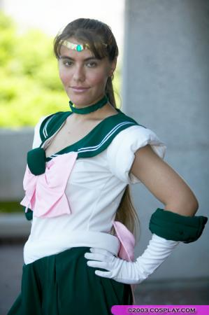 Sailor Jupiter from Sailor Moon worn by Freya